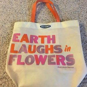 Old Navy canvas tote bag